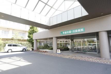 平成の森・川島病院_入口