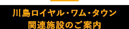 川島ロイヤルワムタウン関連施設のご案内